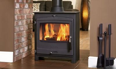 SCAN DSA 12 DOUBLE-SIDED MULTI-FUEL STOVE | MULTI FUEL STOVES REVIEWS