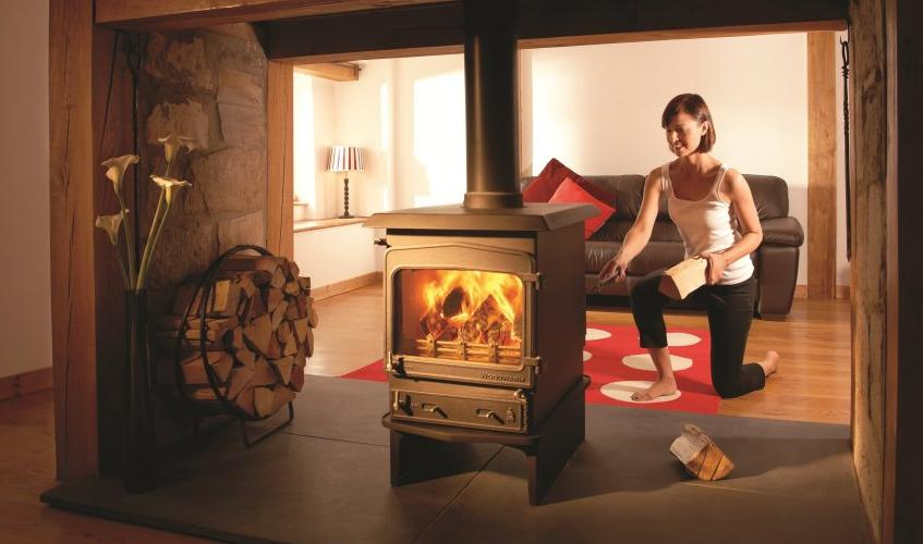 Woodwarm Fireview 6kw Double Sided