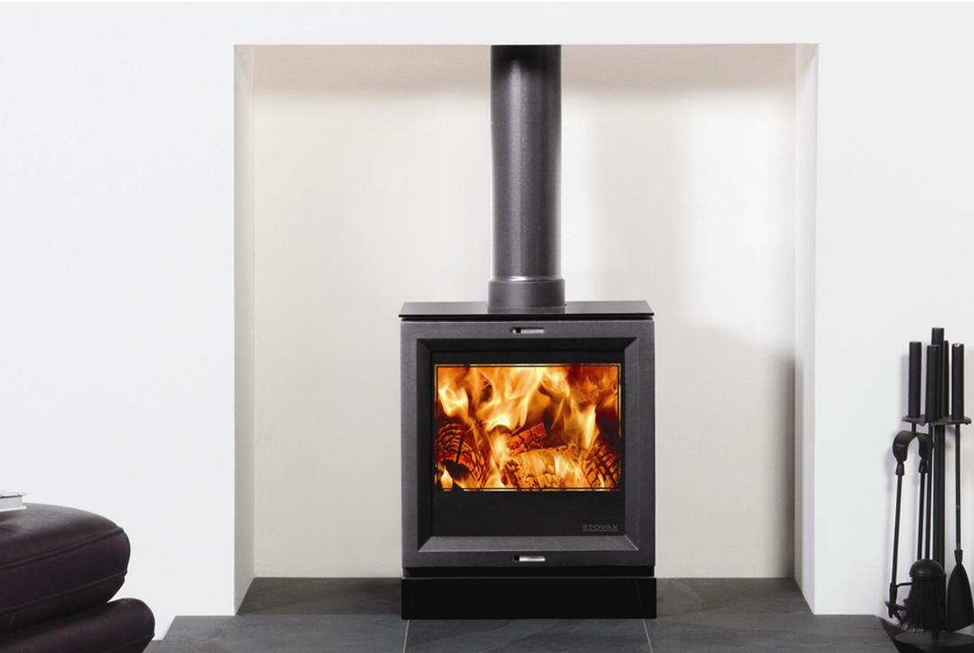 Multi fuel or wood burning stove - Stovax View 5 A R Peet Stoves
